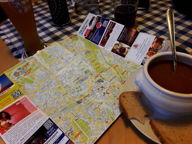 Обед в Мюнхене