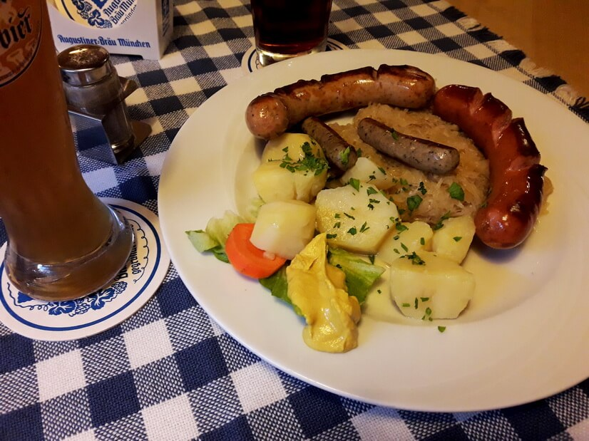 Ресторан Августинер Мюнхен