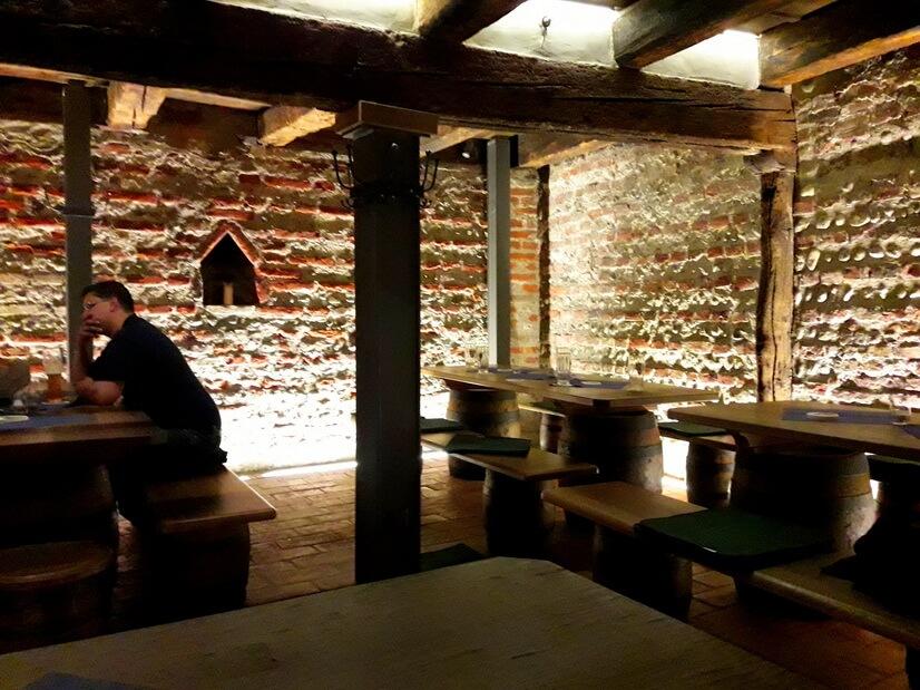 Пивная в музее пива
