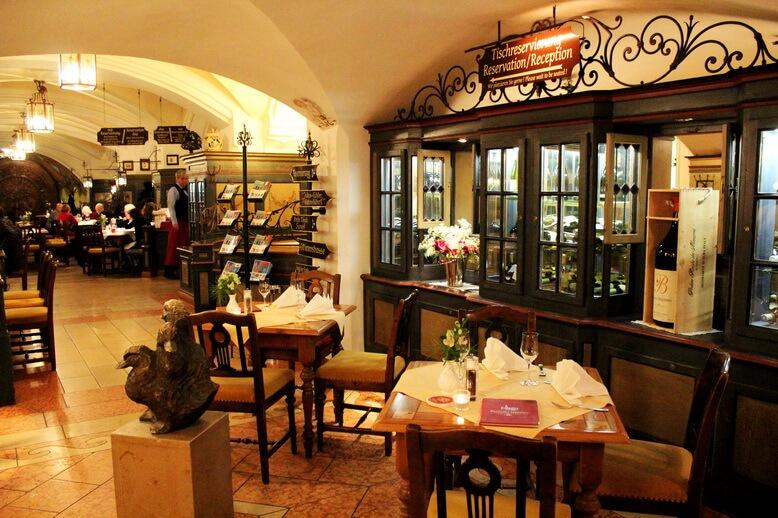 пивной ресторан ратскеллер мюнхен