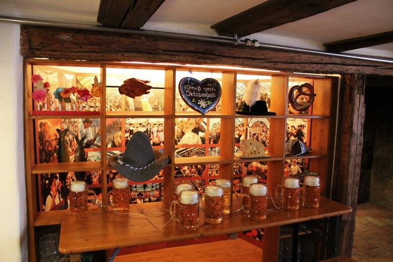 история октоберфеста в музее пива
