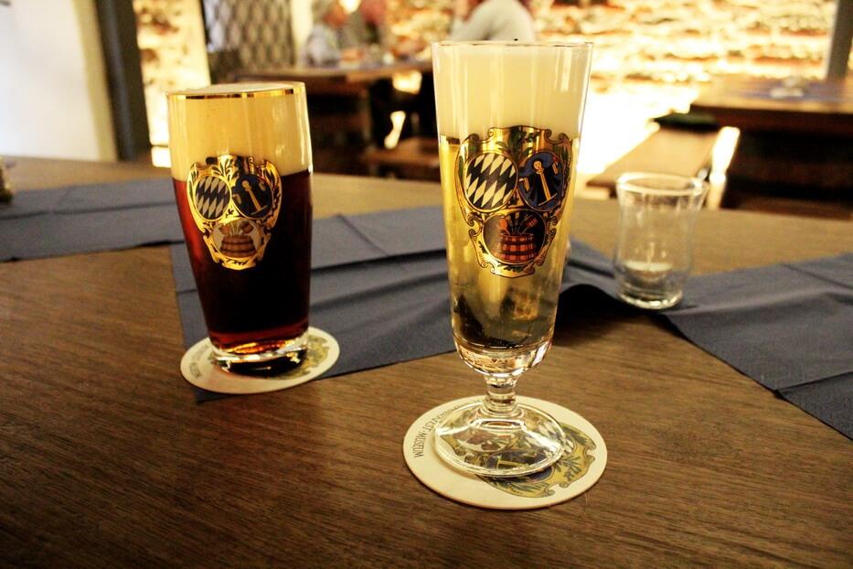 Пиво в Мюнхенском музее пива