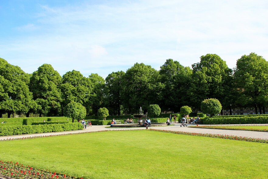 парки мюнхена