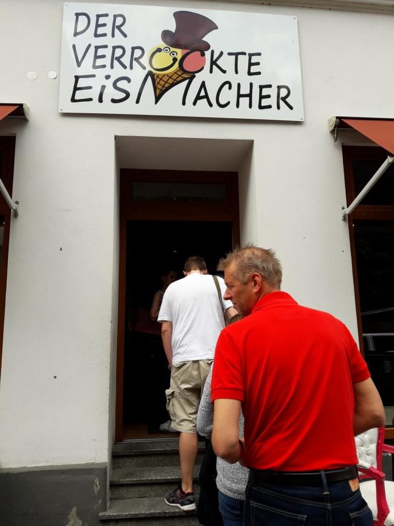 лавка сумасшедшего мороженщика в мюнхене