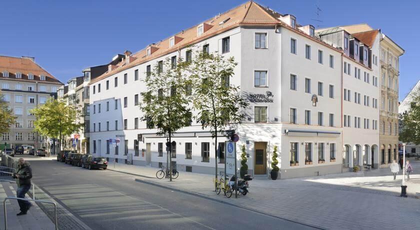 Hotel Blauer Bock в Мюнхене