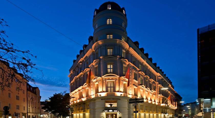 Mandarin Oriental отель в Мюнхене