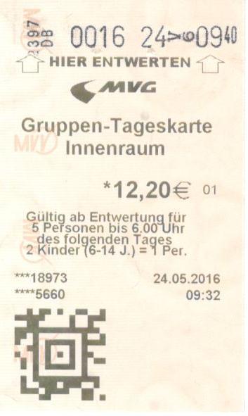 билет на транспорт в мюнхене