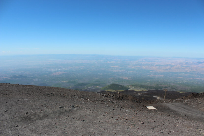 вулкан этна из катании