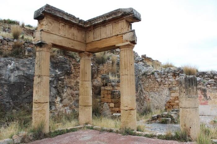 Развалины Солунта, Гимназиум