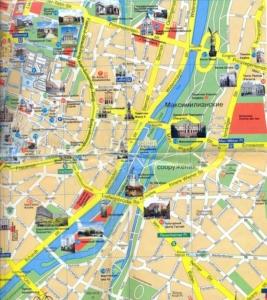 карта мюнхена на русском языке