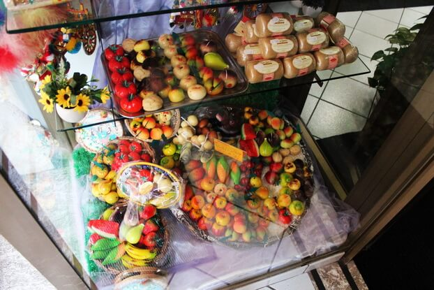 сицилийские фрукты из марципана