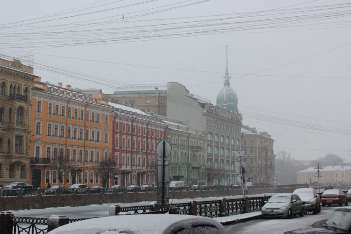 маршрут в Финляндию через Санкт-Петербург