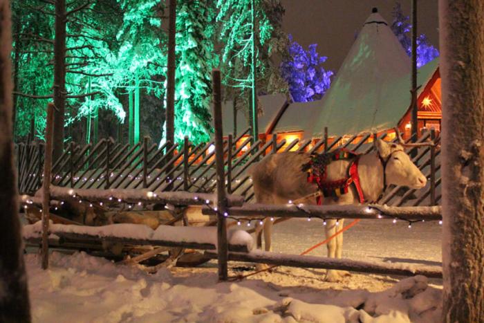 путешествие к санта-клаусу на новый год