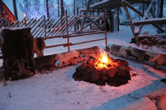 маршрут путешествия за полярный круг финландия
