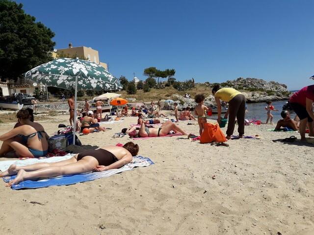пляжи в санта-флавии
