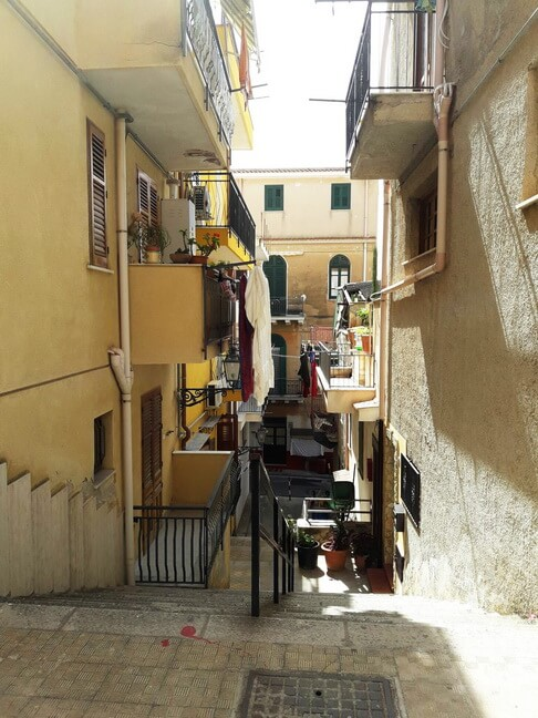 улицы и дома санта-флавии