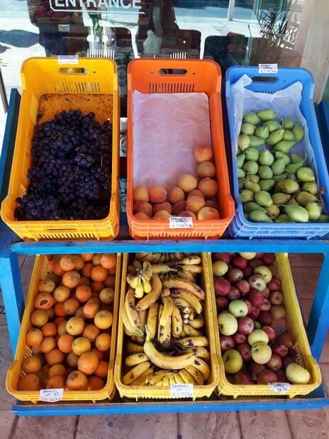 Цены на фрукты на Кипре