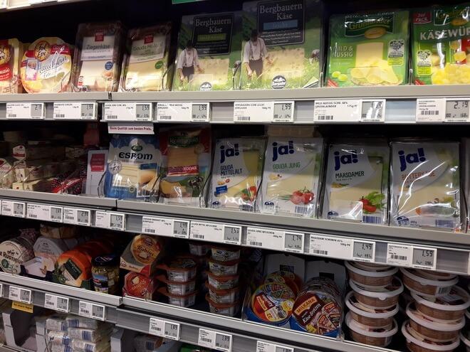 цены на продукты в мюнхене