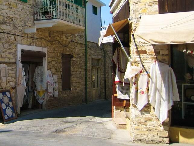 Горная деревенька Лефкара
