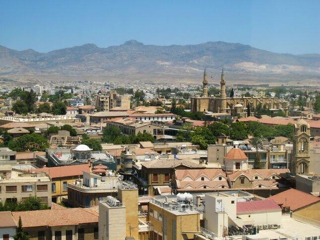 Панорама Северого Кипра, Никосия
