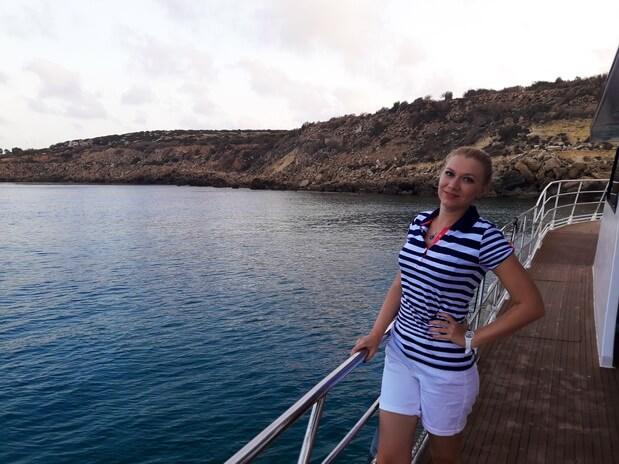 морская прогулка из айа-напы