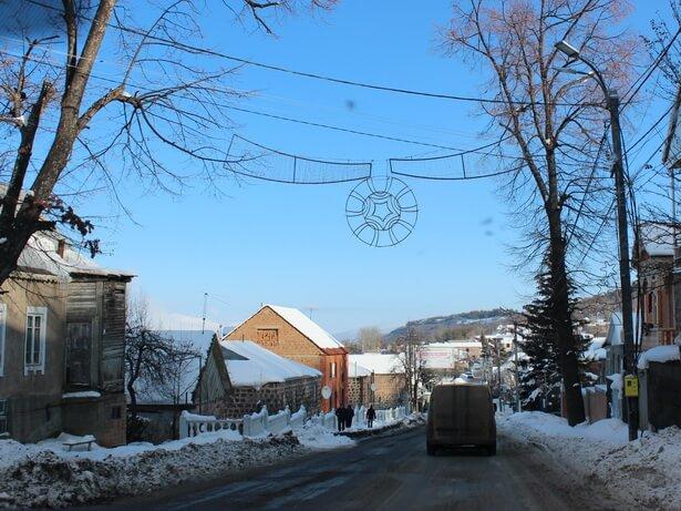 в армению зимой