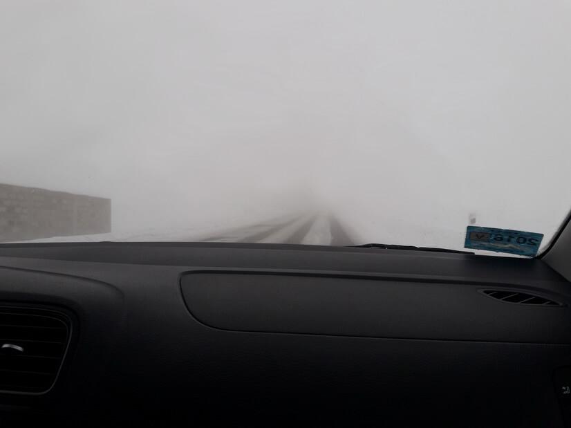 дороги в армении зимой