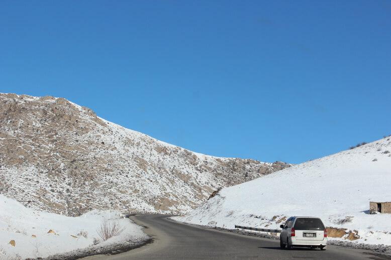 дороги в горах армении