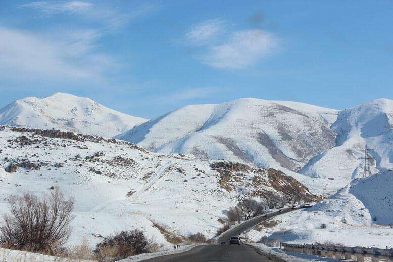 горные дороги армении