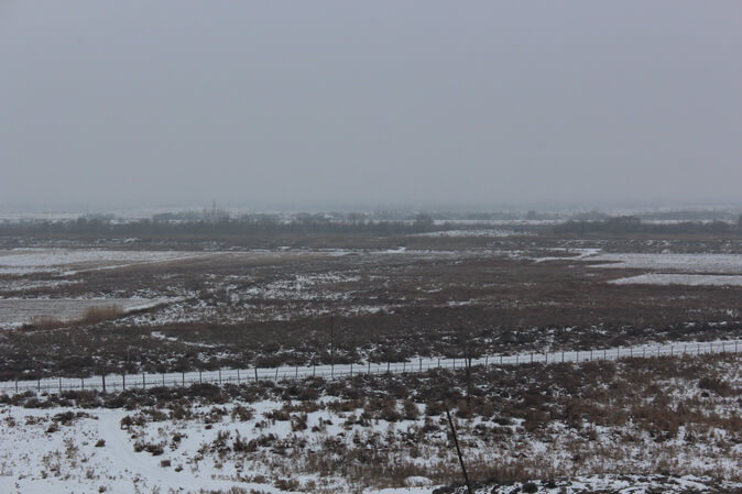 хор вирап зимой