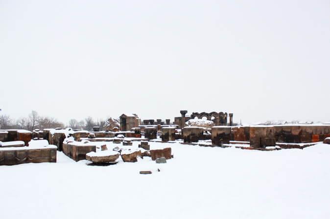 храмовый комплекс звартноц
