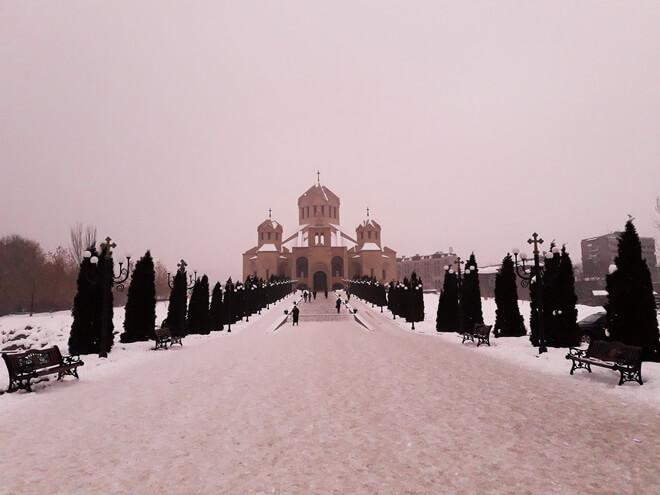 кафедральный собор еревана