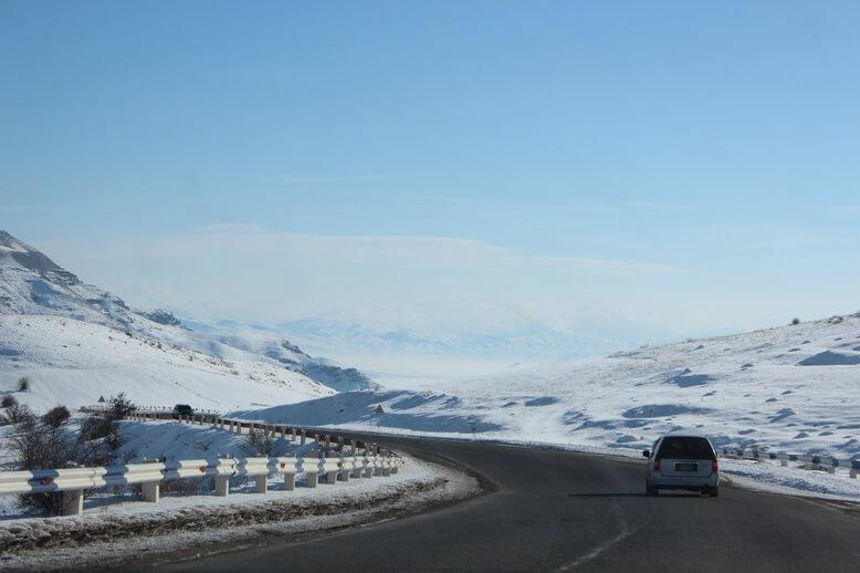 дороги в армении в горах