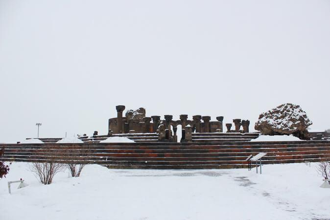 храмовый комплекс звартноц армения