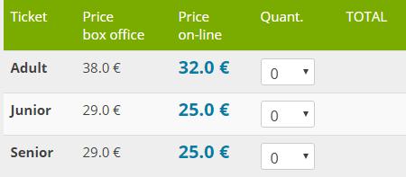 билет в акваландия цена