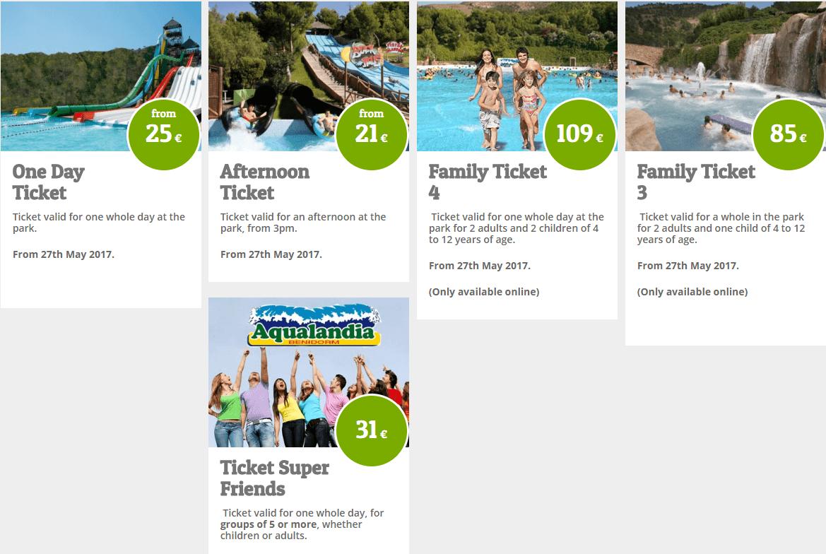 акваландия цена