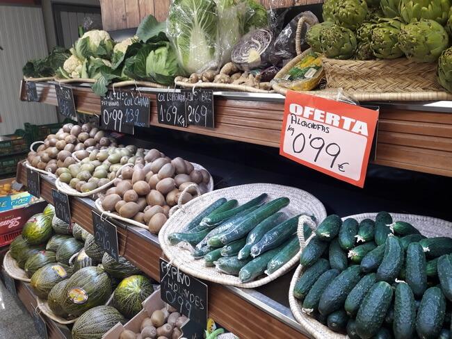 цены в бенидорме на овощи