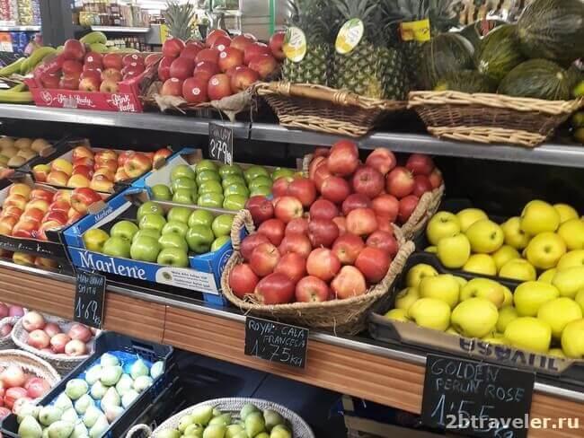 цены на продукты бенидорм