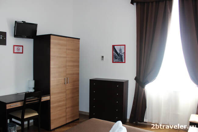 отель chopin комната