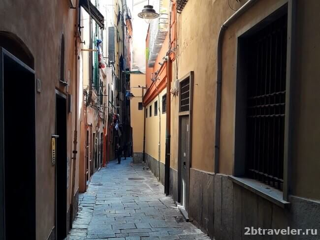генуя старый город