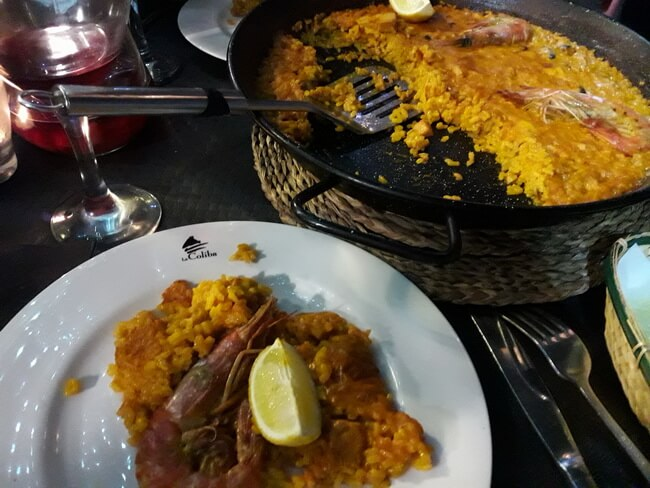 ужин в ресторане jaime