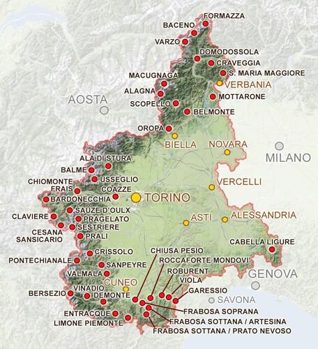 горнолыжные курорты пьемонта