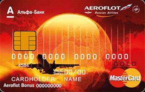 карта аэрофлот альфа-банк