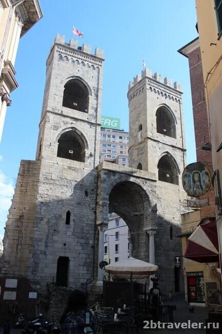 cредневековые ворота porta soprano