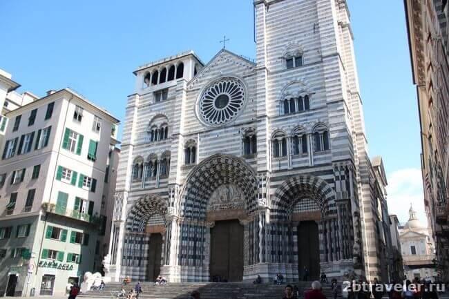 собор святого лоренцо генуя