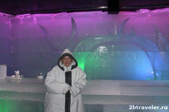 ледяная пещера санта парк