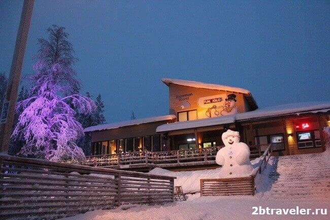 мир снеговиков в деревне санта клауса