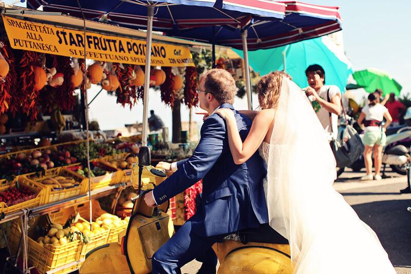 путешествия и свадьба в италии