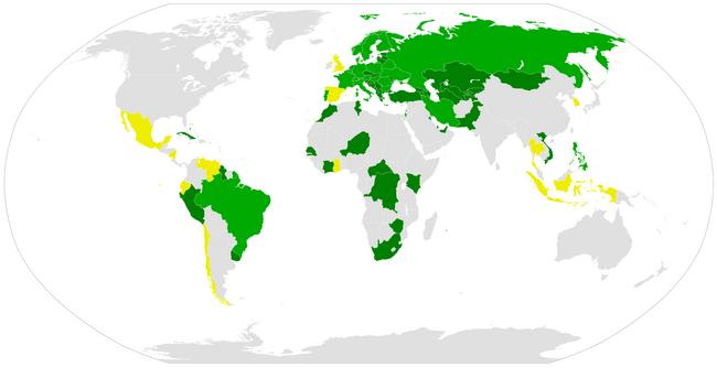 страны венской конвенции