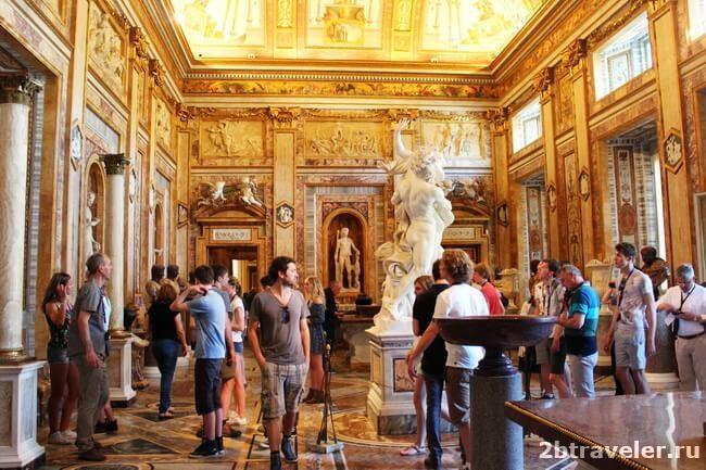 галерея боргезе рим